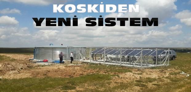 KOSKİ'den Enerji Tasarrufu Sağlayan Sistem