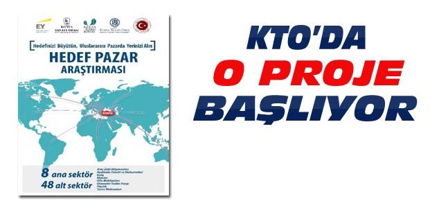 KTO'da Hedef Pazar Seçimi ve Araştırması projesi