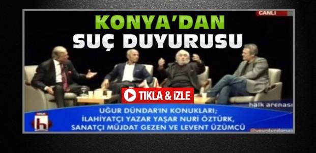 Küfürlü O Programa Konya'dan Suç Duyurusu-VİDEO