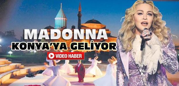 Madonna Konya'ya Gelecek-VİDEO HABER