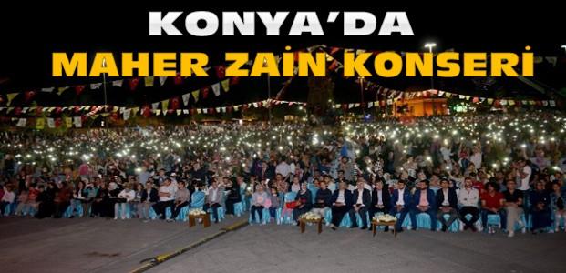 Maher Zain Konya'da Gençlerle Buluştu