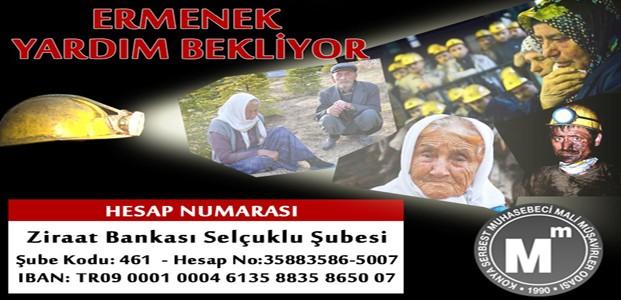 Mali Müşavirler'den Ermenek'e Yardım Kampanyası