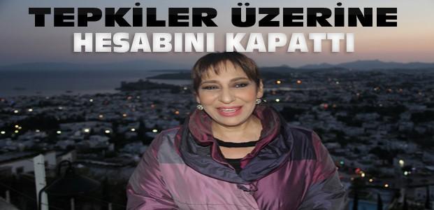 Melek Baykal'a Tepki Yağdı-Hesabını Kapattı