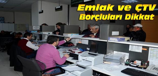 Meram Belediyesi'nde Vezneler Hafta Sonu Açık