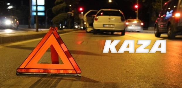 Meram Yeniyol Caddesinde Kaza
