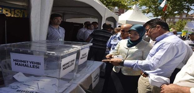 Meram'da 4 Mahallede Plebisit Sonuçları Açıklandı