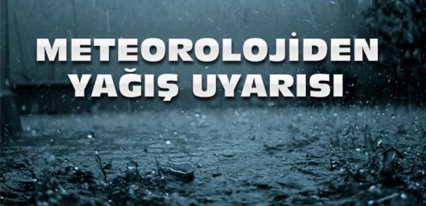 Meteorolojiden Konya İçin Yağış Uyarısı