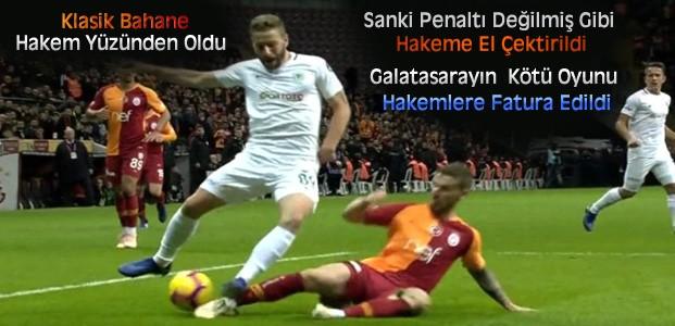 MHK Galatasaray Konya Kararını Verdi