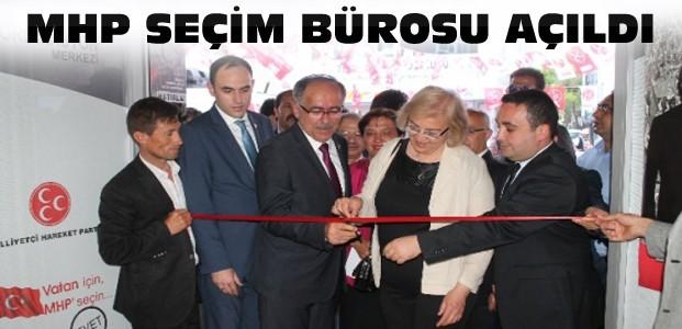 MHP Konya Seçim Bürosu Açıldı
