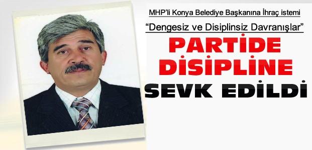 MHP'li Konya Belediye Başkanına İhraç İstemi