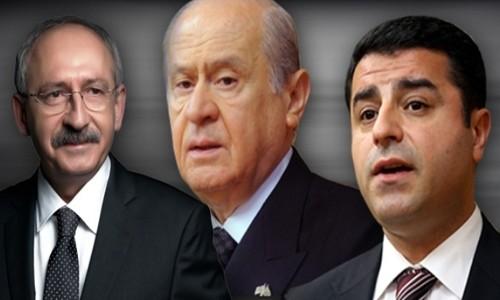 Muhalefet liderlerinden açıklama