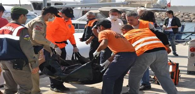 Mülteci Teknesi Battı:12 Ölü