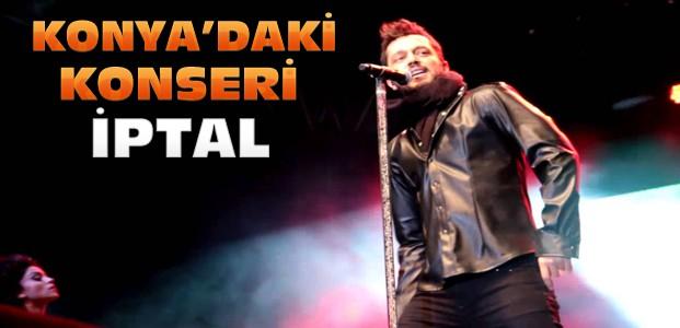 Murat Boz'un Konya'daki Konseri İptal Edildi