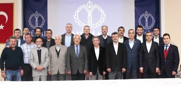 MÜSİAD'da  Birleşmiş Yönetim Kurulu Toplantıları