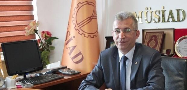 MÜSİAD'dan Davutoğlu'na Tebrik