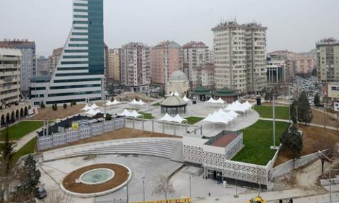 Necmettin Erbakan Parkı Yeni Cazibe Mekanı