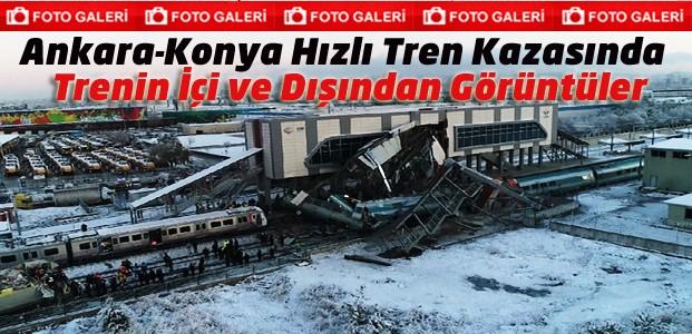 O Tren Kazasından Korkunç Kareler-FOTO GALERİ