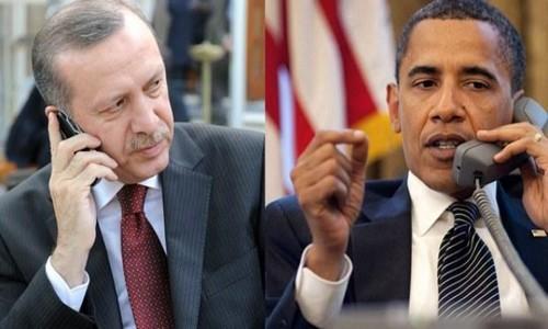 Obama Erdoğan'la görüştü