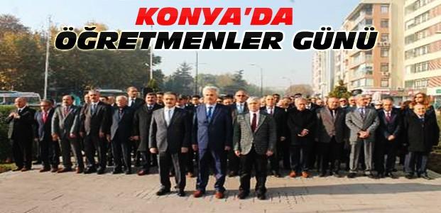 Öğretmenler Günü Konya'da Kutlandı