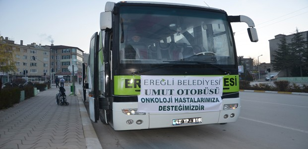 Onkoloji Hastaları Konya'ya Uğurlandı