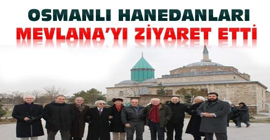 Osmanlı Hanedanları Mevlana'yı Ziyaret Etti