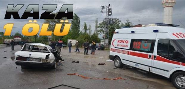 Otomobil ile çekici çarpıştı 1 kişi öldü