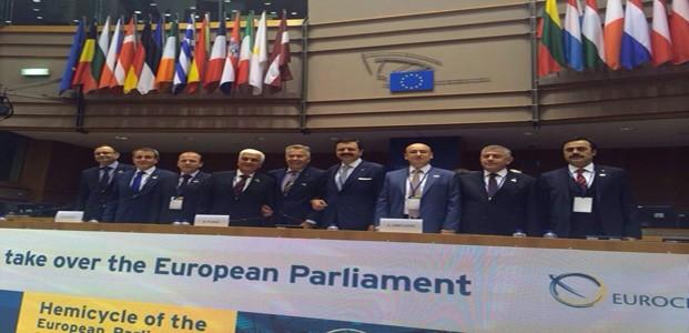 Öztürk Brüksel'deki Toplantıya Katıldı