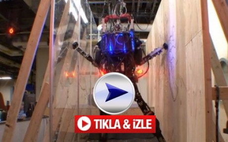 Pentagon'un Ürettiği Yeni Robot-VİDEO