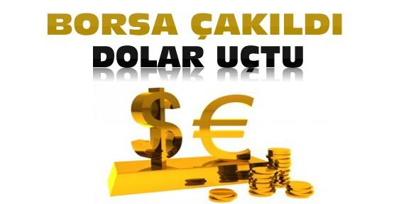 Piyasalarda IŞİD Darbesi-Borsa çakıldı dolar uçtu