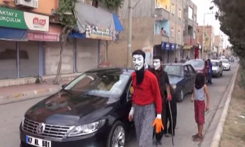 PKK'lılar kimlik kontrolü yaptı