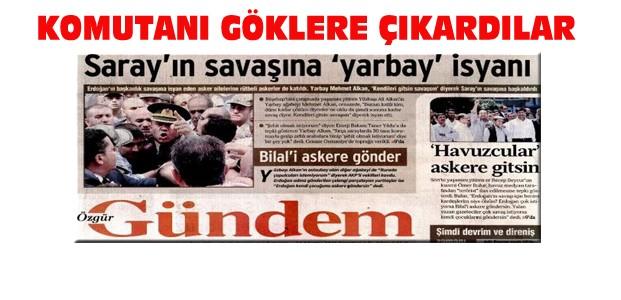 PKK'nın Gazetesinden Şehit Abisi Komutana Övgü