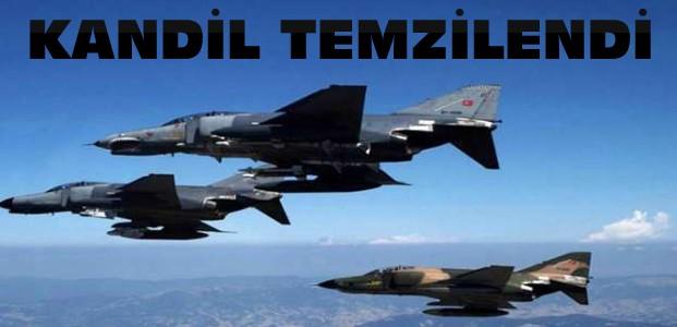 PKK'ya Dev Operasyon-Kandil Temizlendi
