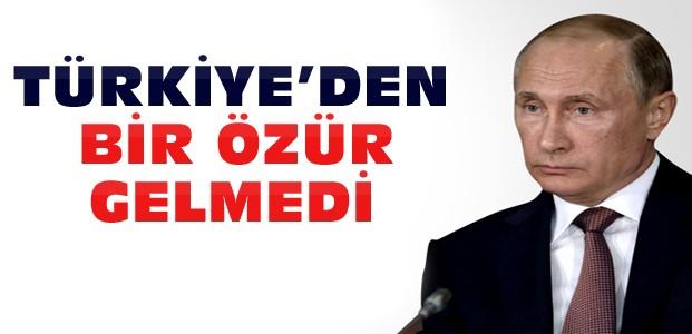 Putin Türkiye'den Özür Bekliyor