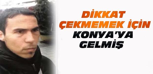 Reina Teröristi Eşiyle Konya'ya Gelmiş