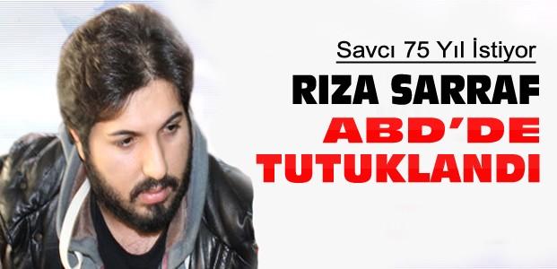Reza Sarraf ABD'de tutuklandı