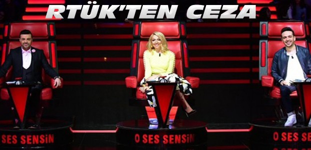 RTÜK'ten 'O Ses Çocuklar' programına ceza
