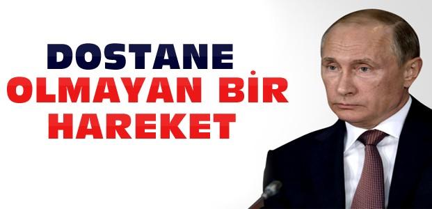 Rusya'dan Türkiye'ye Nota