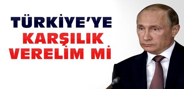 Rusya'nın Türkiye'ye Karşılık Verelim mi Anketi