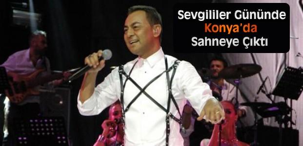 Serdar Ortaç Konya'da Sahne Aldı
