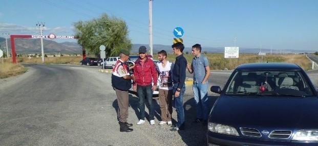 Seydişehir'de Jandarma Bayramlaştı