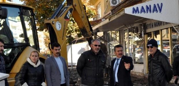 Seydişehir'de Uludağ Caddesi Modern Hale Gelecek
