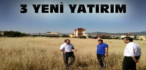 Seydişehir'e 3 Ayrı Yatırım