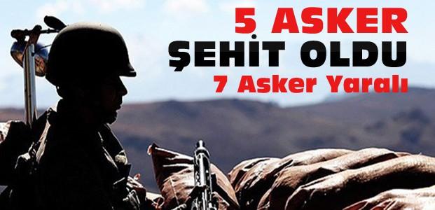 Şırnak ve Mardin'den acı haber:5 şehit var