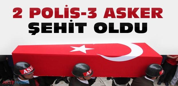 Şırnak'tan Acı Haber:5 Şehit