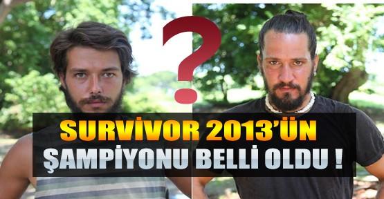 Survivor 2013'ün Şampiyonu Belli Oldu-İşte Bu Yılın Survivor'u