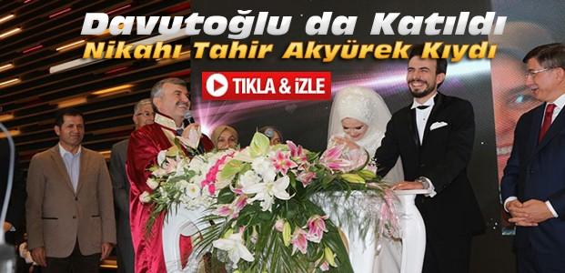 Tahir Akyürek Oğlunun Nikahını Kıydı-VİDEO