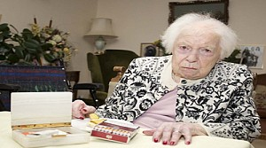 102 yaşında sigarayı bıraktı
