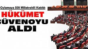 64. Hükümet Meclisten Güvenoyu Aldı