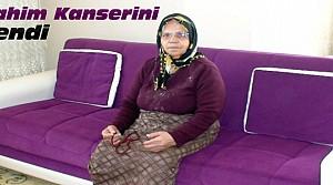 74 Yaşındaki Engelli Kadın Rahim Kanserini Yendi
