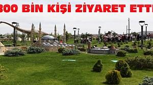 80 Binde Devr-I Alem Parkına 800 Bin Ziyaret
